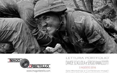Lettura Portfolio con Davide Scagliola e Sergio Ramazzotti