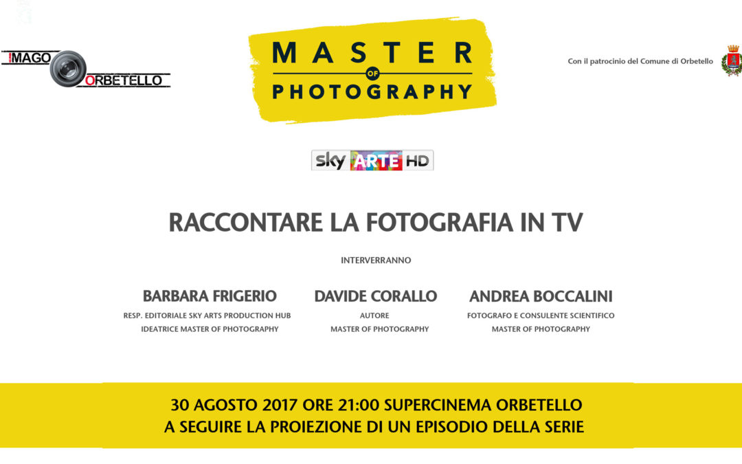 Master of Photography: raccontare la fotografia in TV
