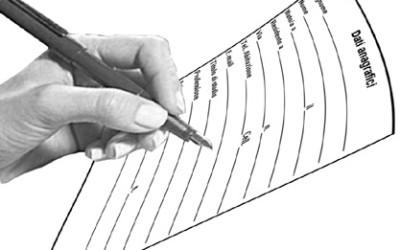 Scheda di Iscrizione