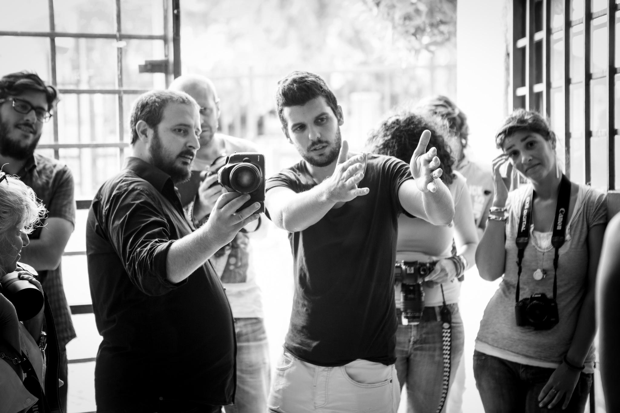workshop ritratto con Eolo Perfido