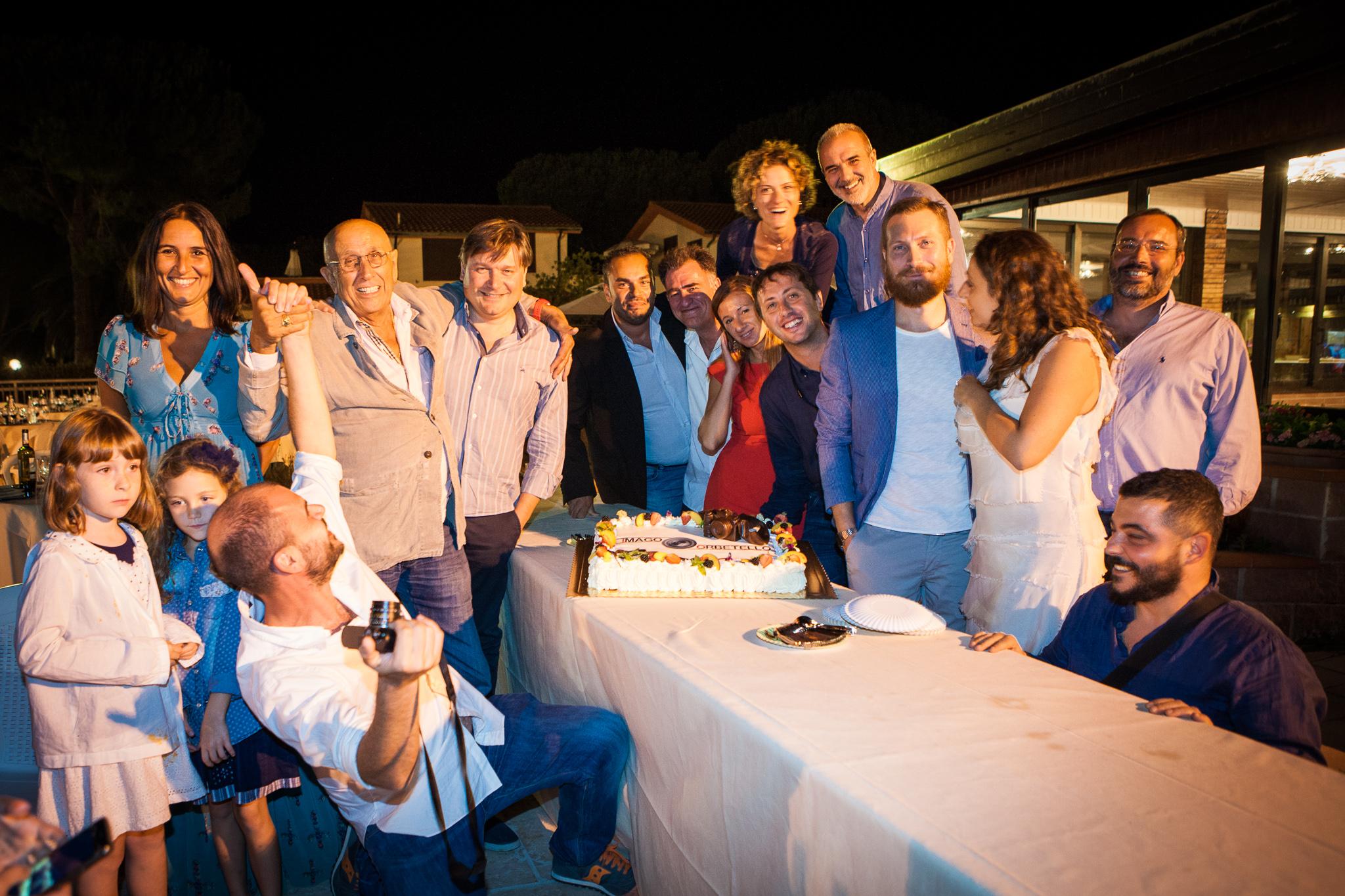 Serata di gala imago torta fontana