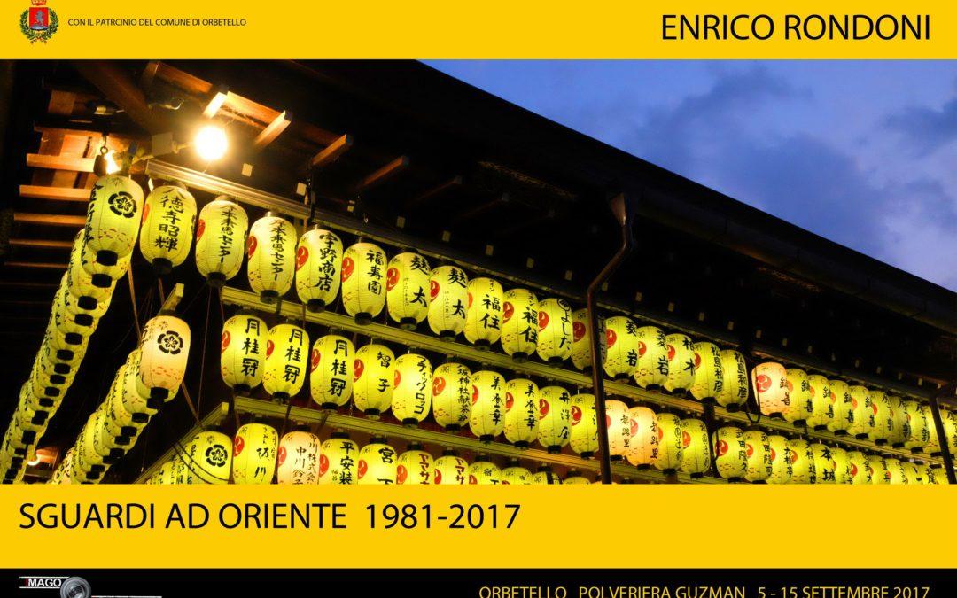 Enrico Rondoni sguardi ad oriente imagorbetello