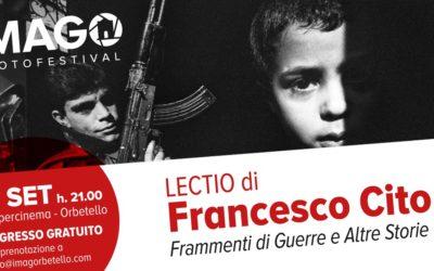Lectio di Francesco Cito: Frammenti di Guerre e Altre Storie